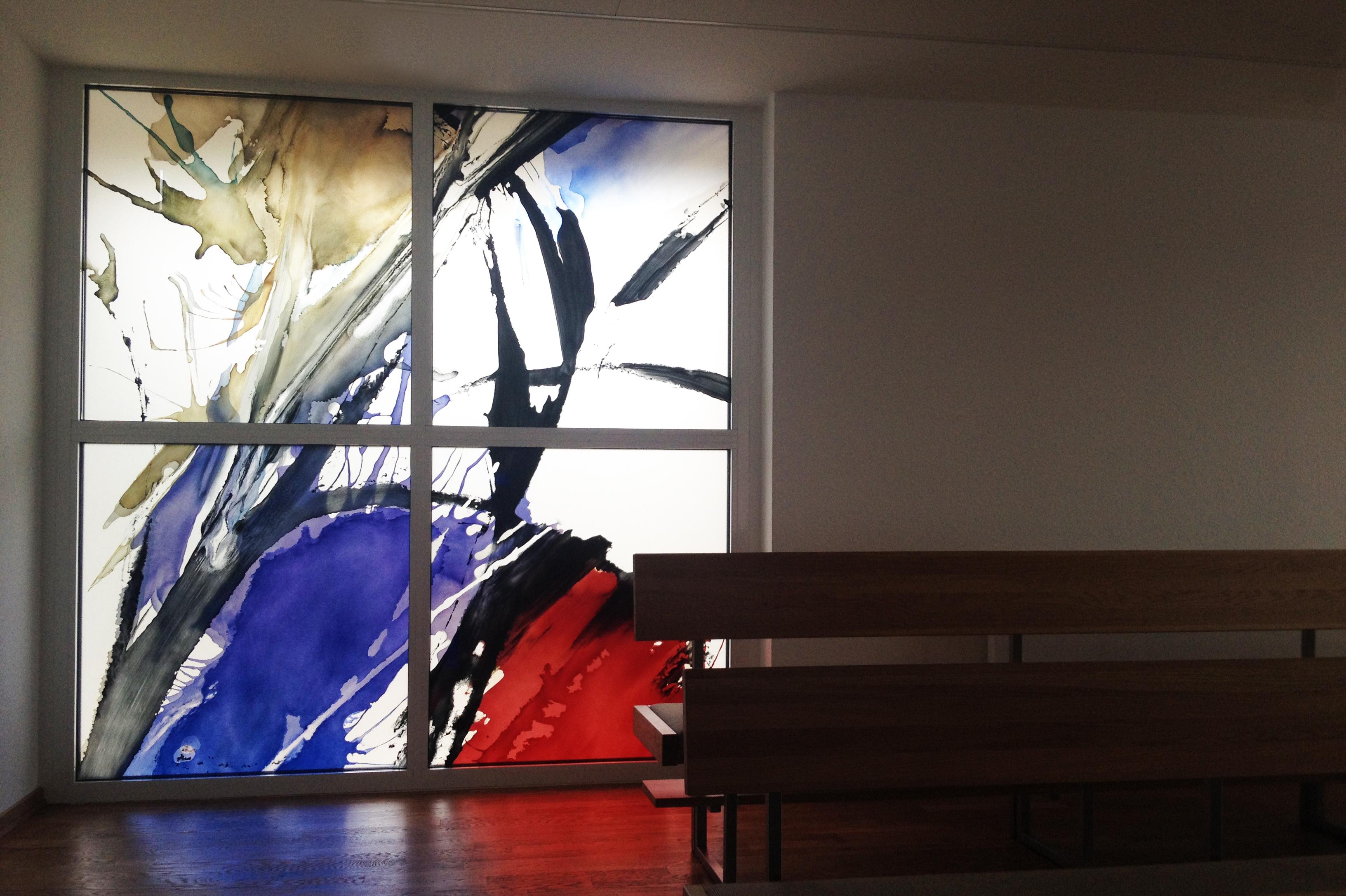 Chorfenster Glaskunst