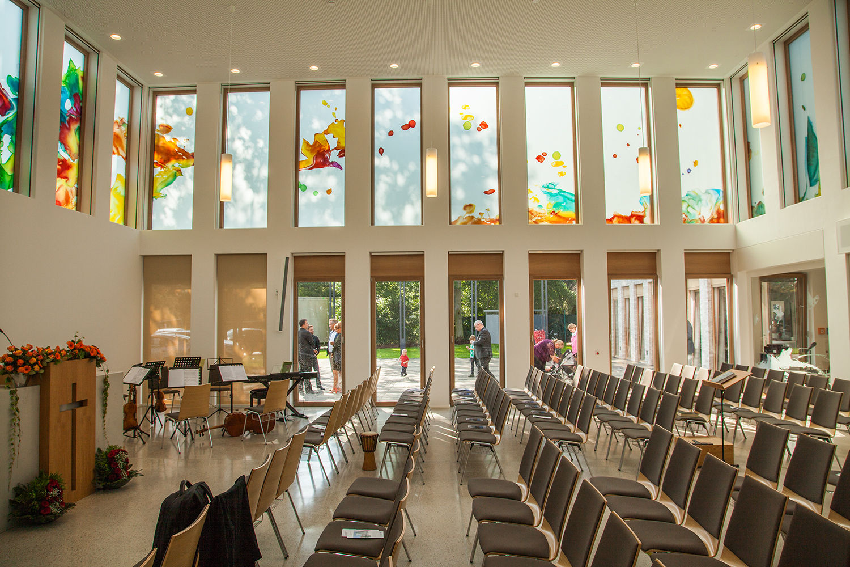 Kirche Greven Kunst im Innenraum