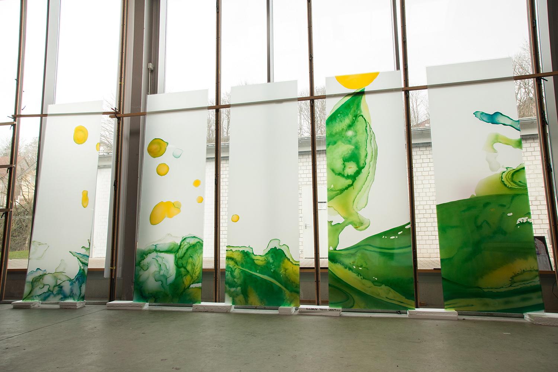 Glaskunstwerke Glasmalerei für die Kirche Greven