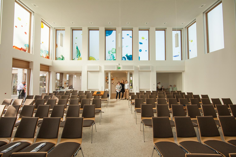 Glaskunstwerke Kunst am Bau Kirche Greven