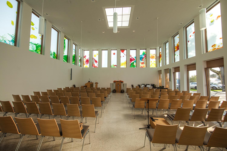 Glaskunstwerke Kirche Greven