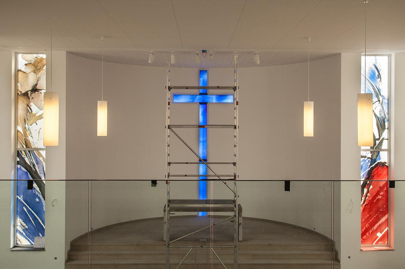 Glaskunst für die Kirche Porta Westfalica