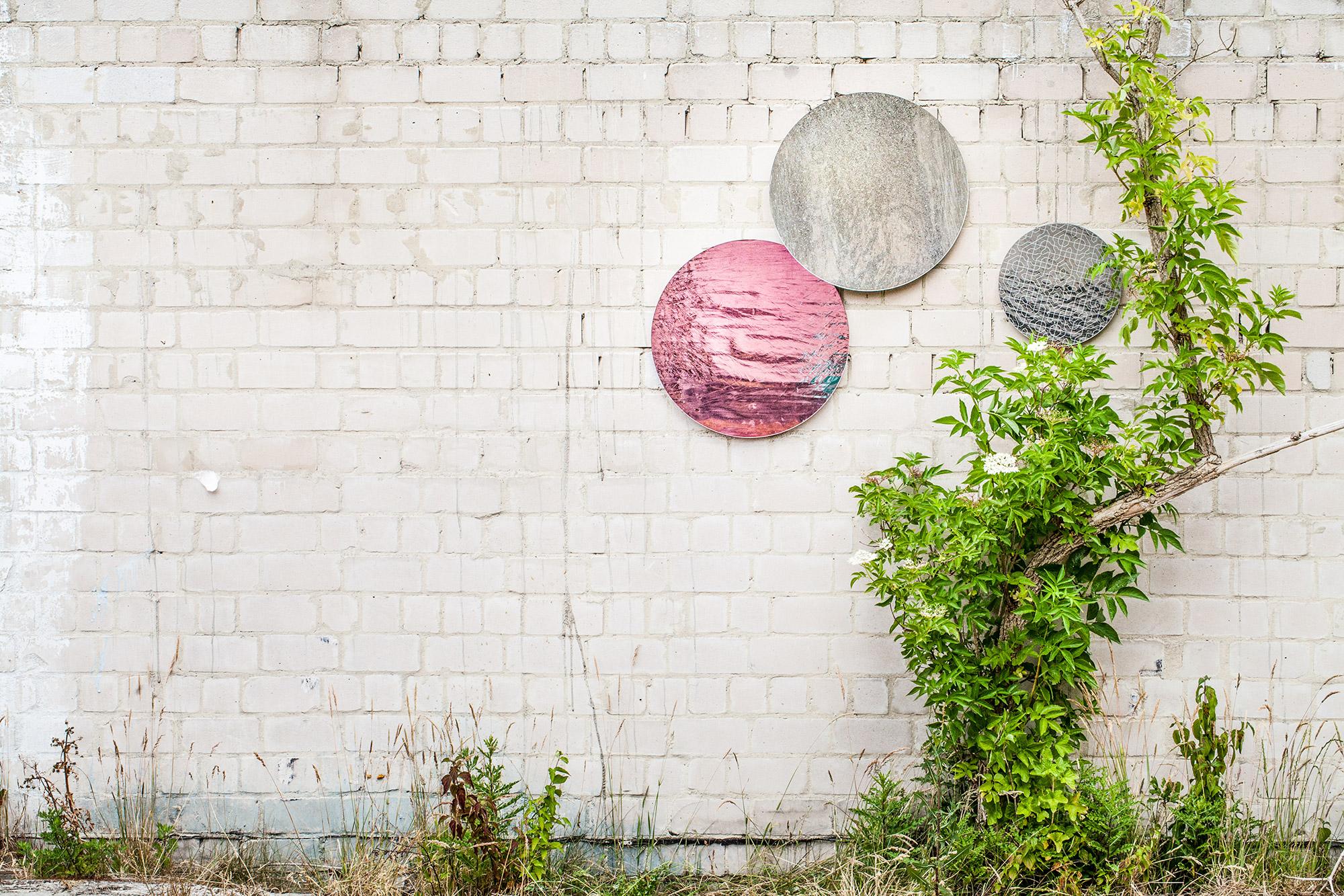 Produktserie Wand Glaskunst