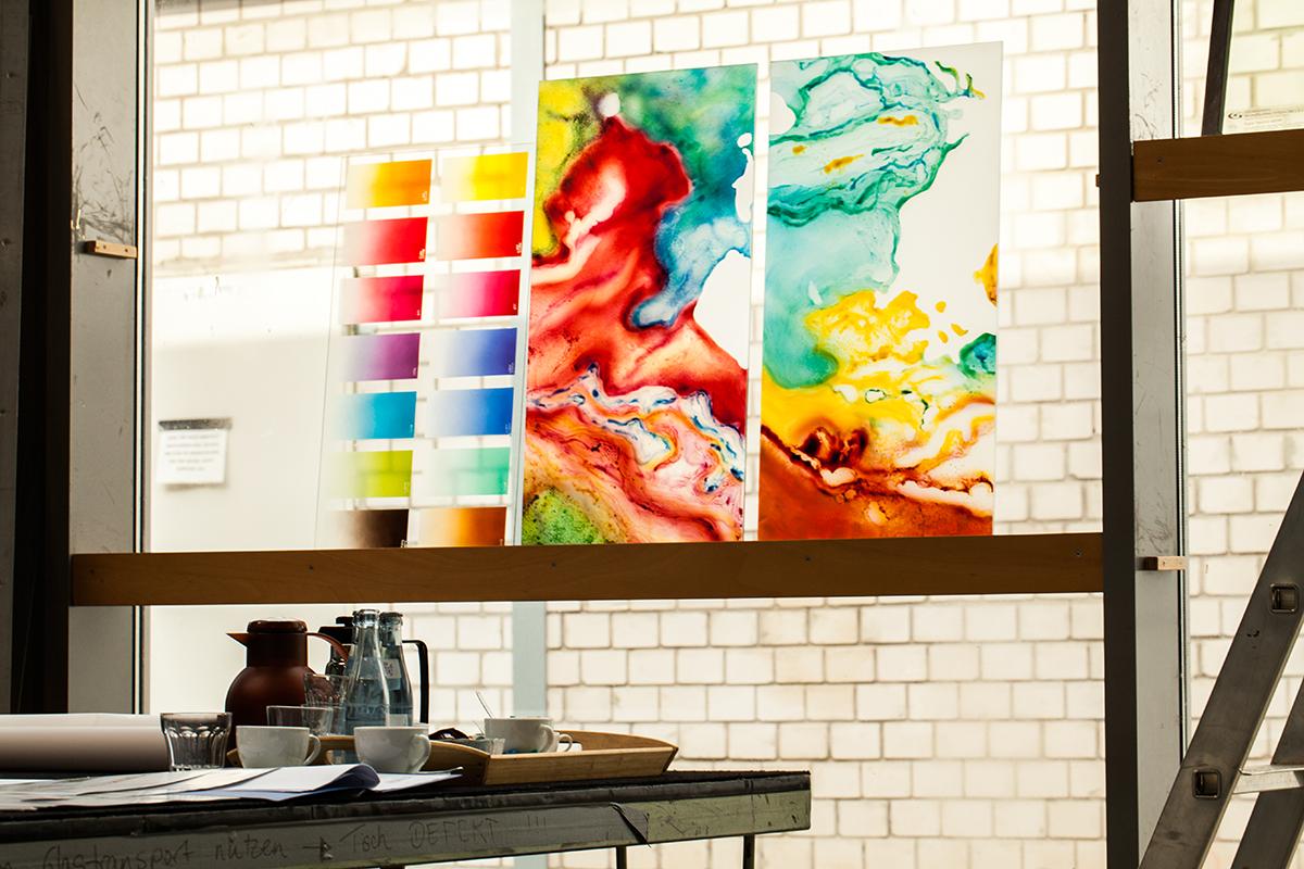 Musterfertigung NAK Glaskunstwerke