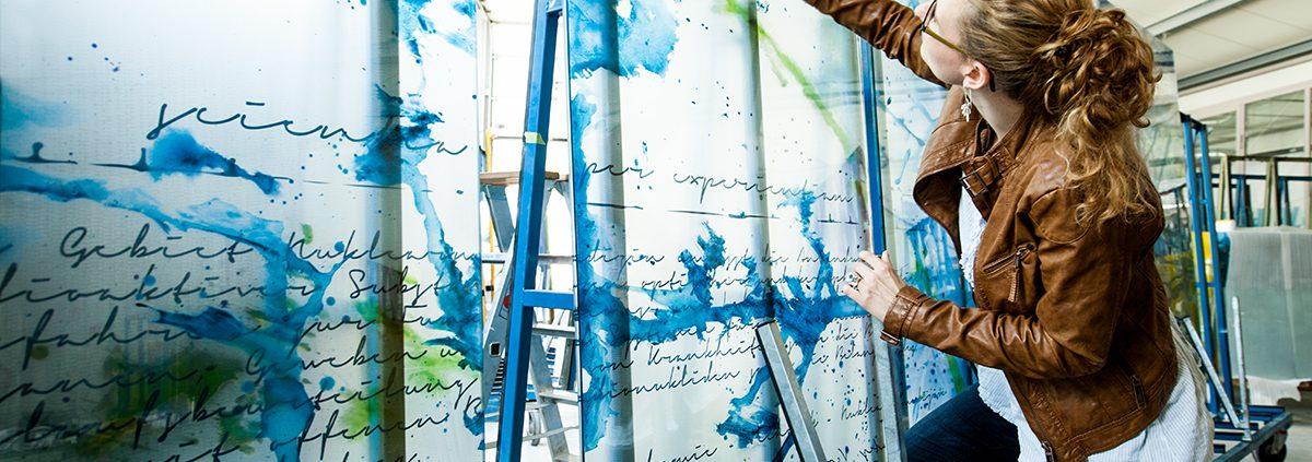 Glaskunstwerke für Nuklearmedizin Braunschweig