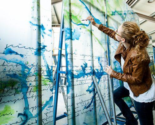 Glaskunstwerke für Medizin