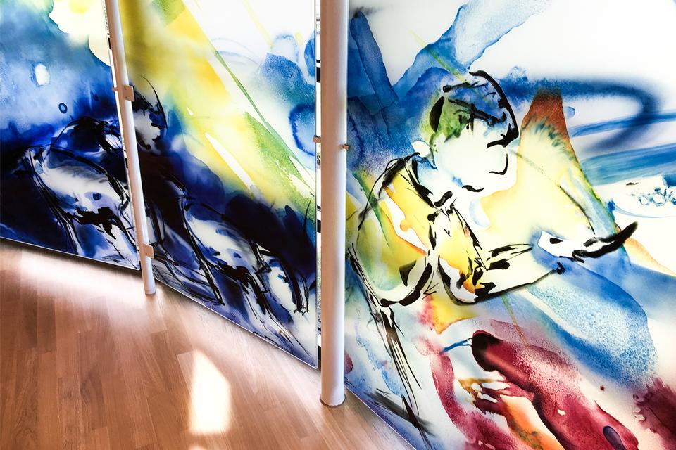 Krankenhauskapelle Glaskunst Lea Schulz-Dievenow