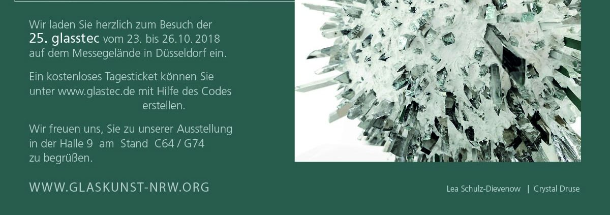 Glaskünstlervereinigung NRW e.V. Glasstec