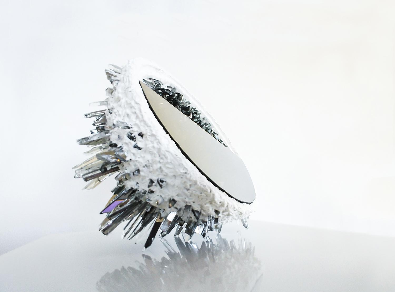 Kunstwerk crystel druse Objekt