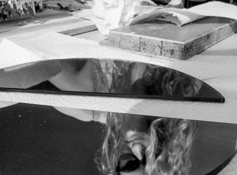 Prozess Glaskunst Lea Schulz-Dievenow