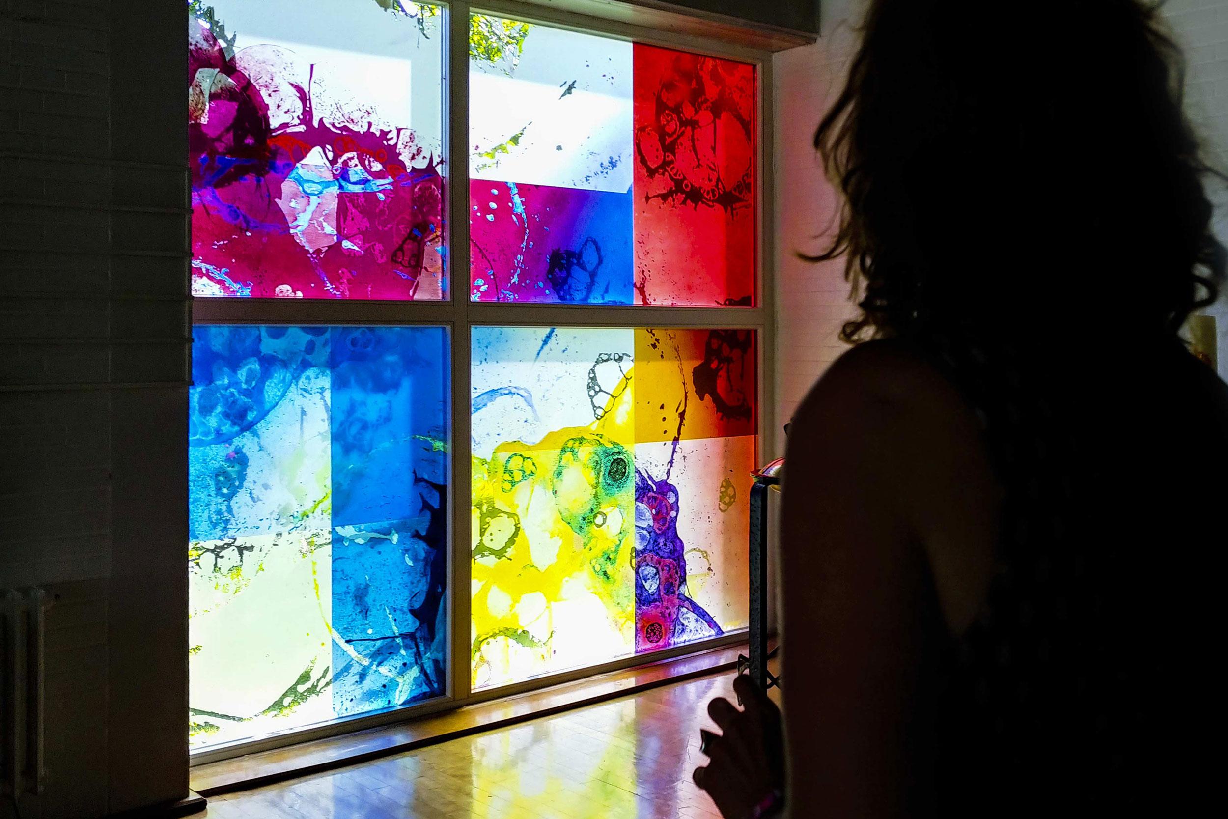 Tauffenster Glaskunst