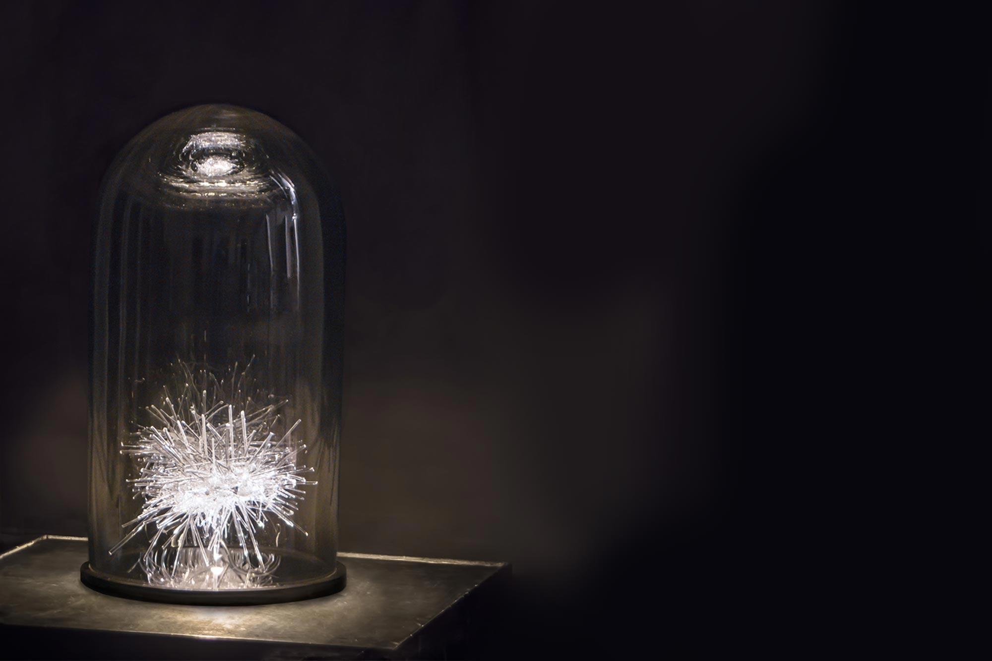 Leuchtobjekt Glas
